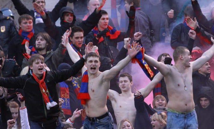 фанаты ЦСКА