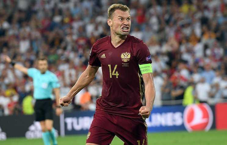 Василий Березуцкий в сборной