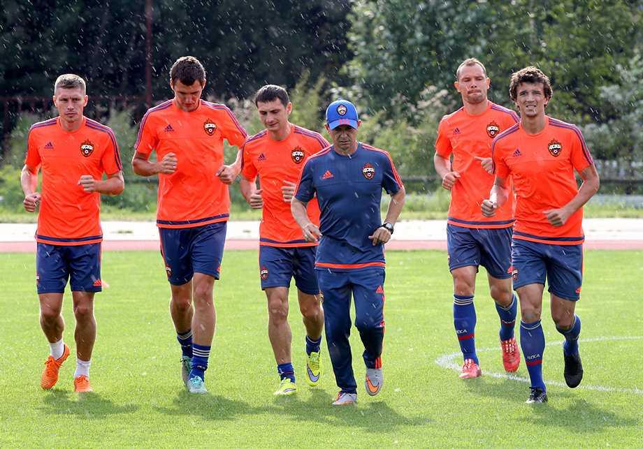 ЦСКА на сборе