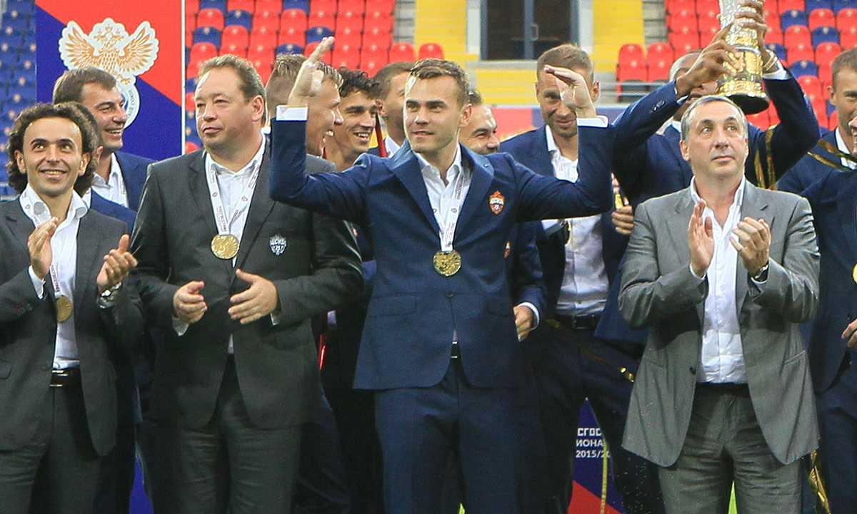 ЦСКА - Чемпионы!