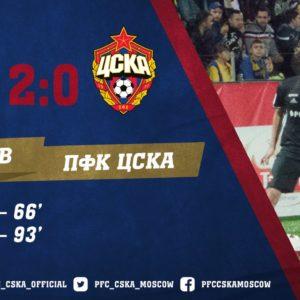 Ростов - ЦСКА - 2:0