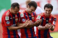 Полузащитники Алан Дзагоев и Бибрас Натхо вновь будут тренироваться по индивидуальной программе.