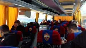 ЦСКА едет в Тулу