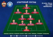 состав ЦСКА на Оренбург
