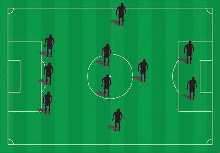 футбольная схема