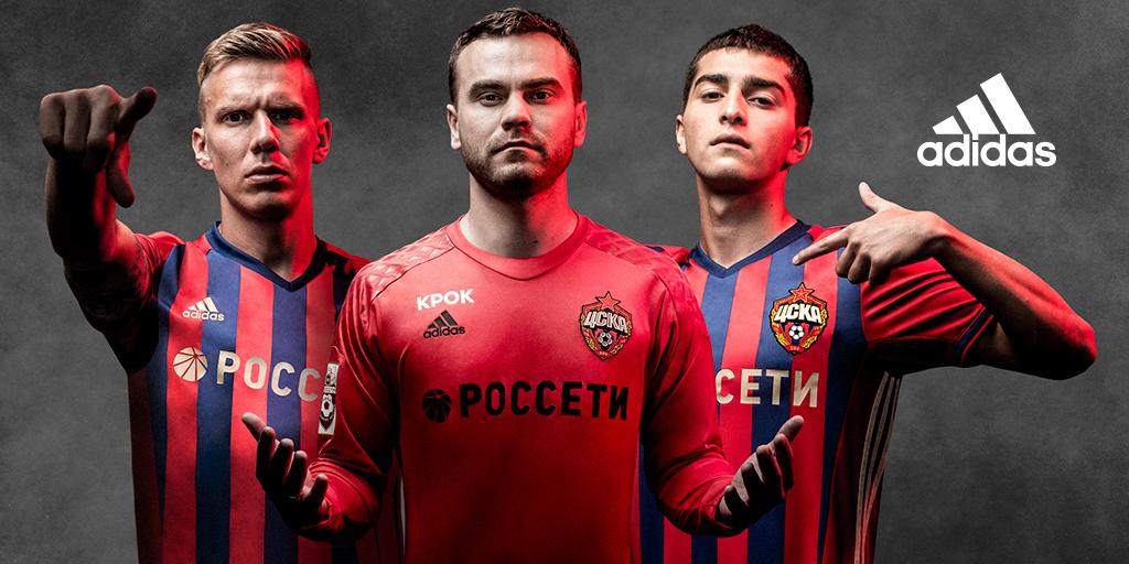 Реклама адидас от ЦСКА