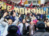 ПФК ЦСКА поздравили ХК  ЦСКА с завоеванием третьего подряд Кубка Континента!