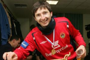 Евгений Алдонин в ЦСКА