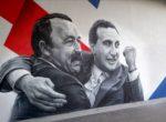 На Арене ЦСКА появились граффити с Газзаевым