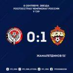 ПФК ЦСКА впервые обыграл «Амкар» в двух гостевых матчах подряд