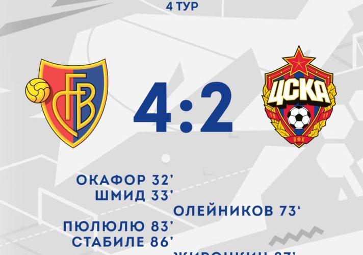 DNezFPSW0AEgM B 712x500 - ЦСКА потерпел четвертое поражение в Юношеской лиге УЕФА