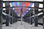 На станции метро ЦСКА установили четыре скульптуры спортсменов