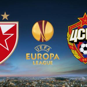 Црвена Звезда - ПФК ЦСКА - Лига Европы