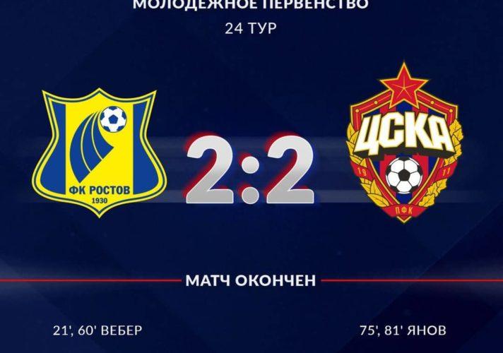 Ростов - ЦСКА - 2:2