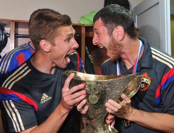 суперкубок ЦСКА набабкин и Дзагоев