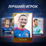 Фёдор Чалов — лучший в июле и августе