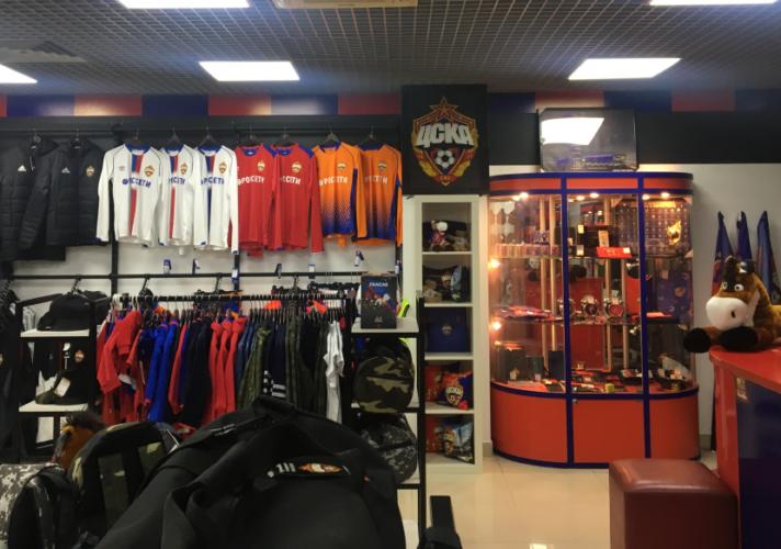 Новый магазин ЦСКА