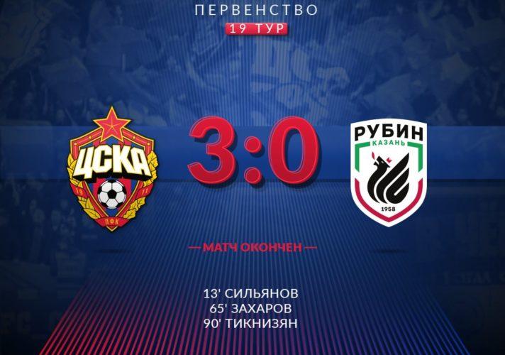 ЦСКА - Рубин молодежные составы