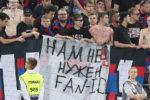 Фанатам ЦСКА запретили вывесить баннер про Fan ID