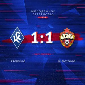 КС - ПФК ЦСКА - 1:1