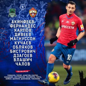 Краснодар - ПФК ЦСКА