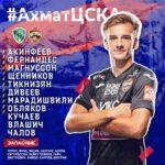 Состав ПФК ЦСКА на игру с Ахматом|30.08.2020